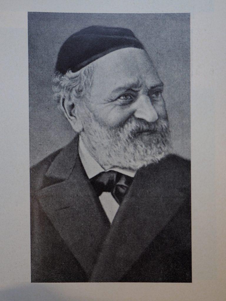 Rabbiner Dr. Esriel Hildesheimer - Adass Jisroel, Max Sinasohn - Fotograf unbekannt