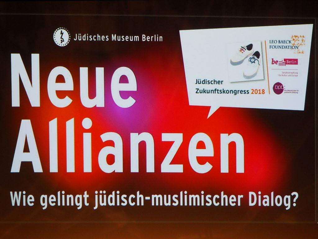 Erster Jüdischer Zukunftskongress Berlin 2018